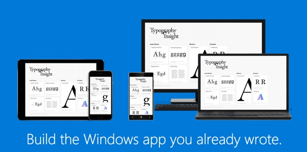 Porting an iOS app to Windows 10 can take as little as 5 minutes
