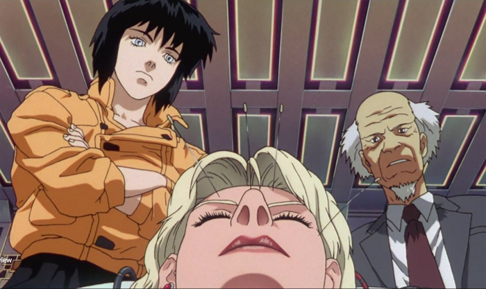4. Ghost In The Shell (1996)