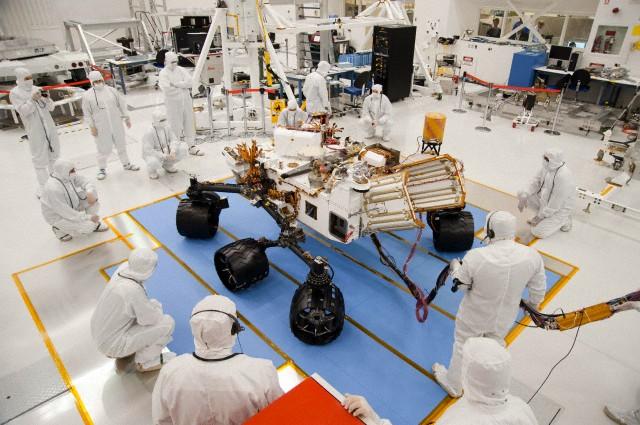 NASA rover testing