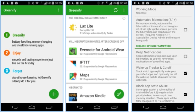 The best battery saver app for Android - Greenify