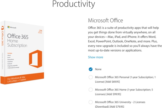 Apple offers new iPad buyers option to purchase Office 365 subscription