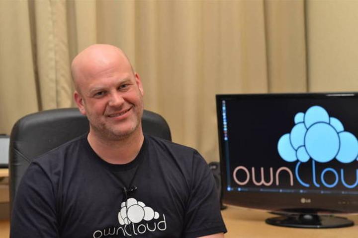 ownCloud founder Frank Karlitschek