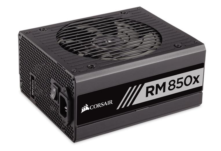 PSU: Corsair RMx RM850X 850W 80 Plus Gold