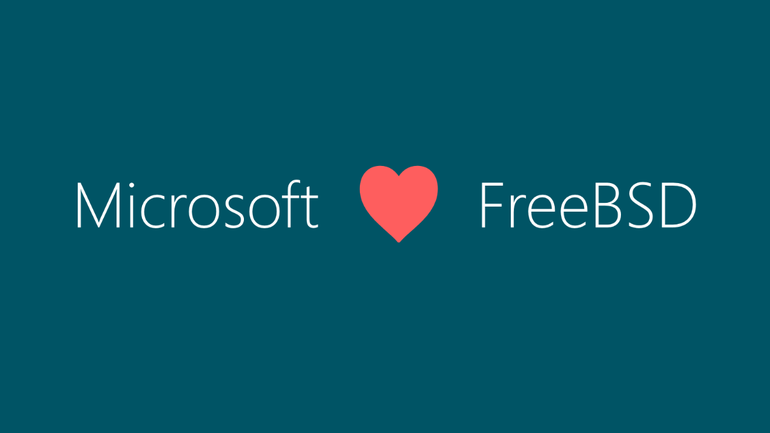 Microsft FreeBSD