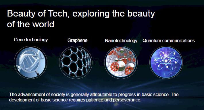 Huawei Beauty of Tech