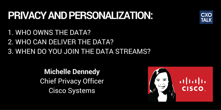 Michelle Dennedy, Chief Privacy Officer, Cisco Systems