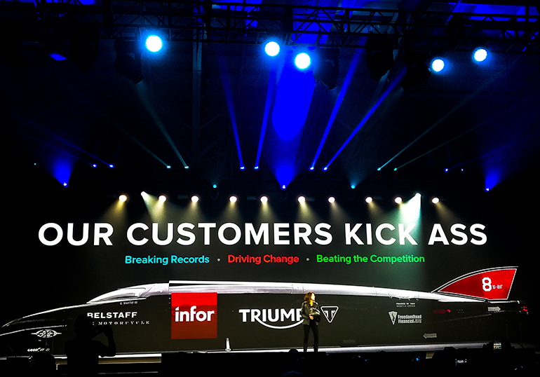 "Infor COO, Pam Murphy: ""Our customers kick ass"""