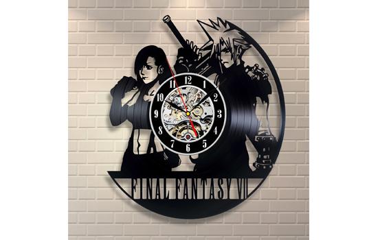 Final Fantasy Vinyl Record Wall Clock