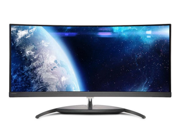 34-inch Philips BDM3490UC Quad HD curved display