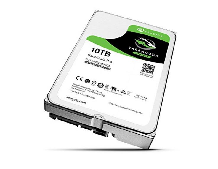 HDD - 10TB Seagate Barracude Pro