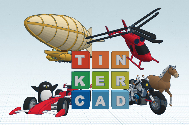 Tinkercad (instead of Fusion 360)