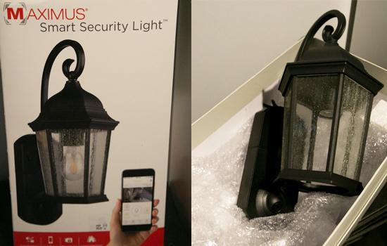 Maximus smart security light
