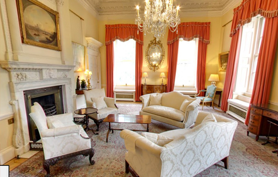 10 Downing Street: The White room