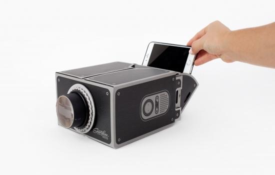 Gee-Whiz smartphone projector