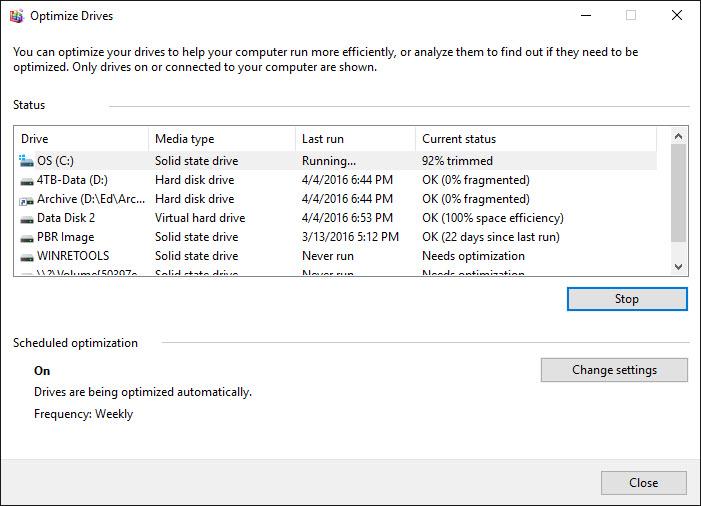 Defrag secrets for hard disks and SSDs