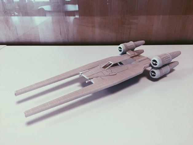 U-Wing Rogue One fan-designed ship