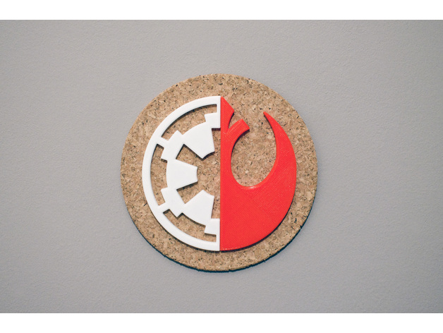 Rogue One Imperial vs. Rebel coaster