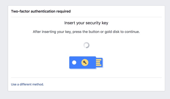 Authenticating with Facebook