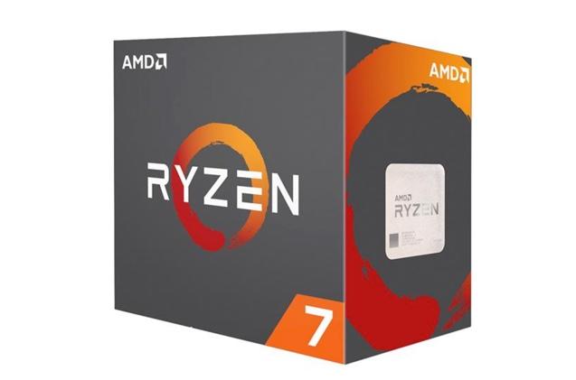 CPU: AMD Ryzen 7 1800X