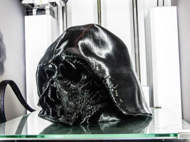 Melted Darth Vader Mask