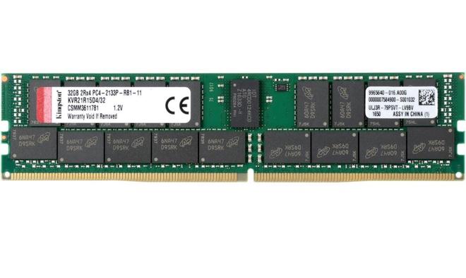 RAM: Kingston ValueRAM 32G 288-Pin DDR4 SDRAM ECC Registered DDR4 2133 (PC4 17000)