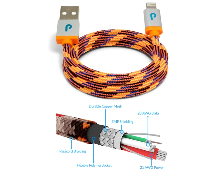 Honorable mention - Paracable Lightning cable