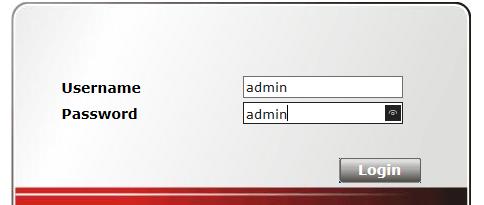 Change default password on router
