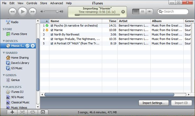 Ancient iTunes