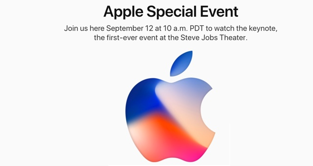 Yes, Apple will be live streaming the iPhone 8 launch
