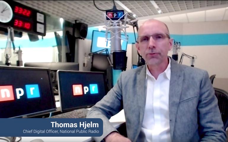 Thomas Hjelm, NPR. - CXOTalk