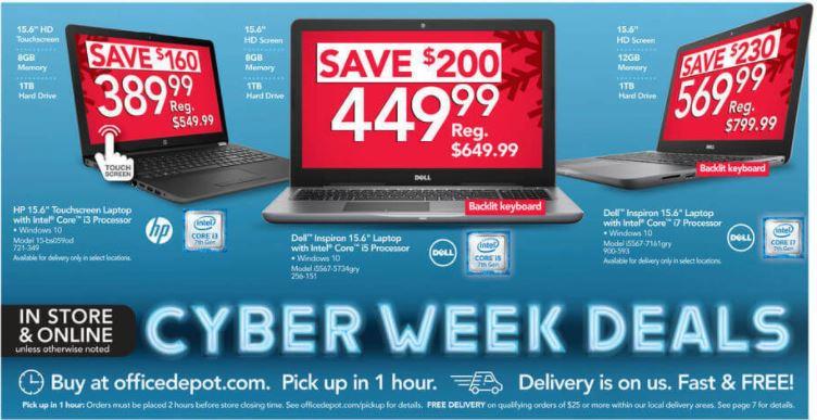 The Best Office Depot And Officemax Cyber Monday Laptop Desktop Pc Deals Zdnet