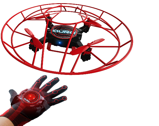 KD interactive Aura drone and glove controller