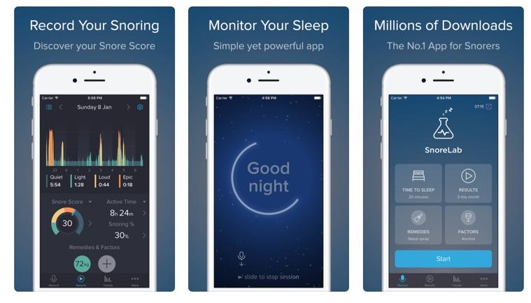 SnoreLab app