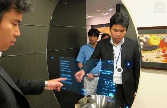 AI powered mirrors