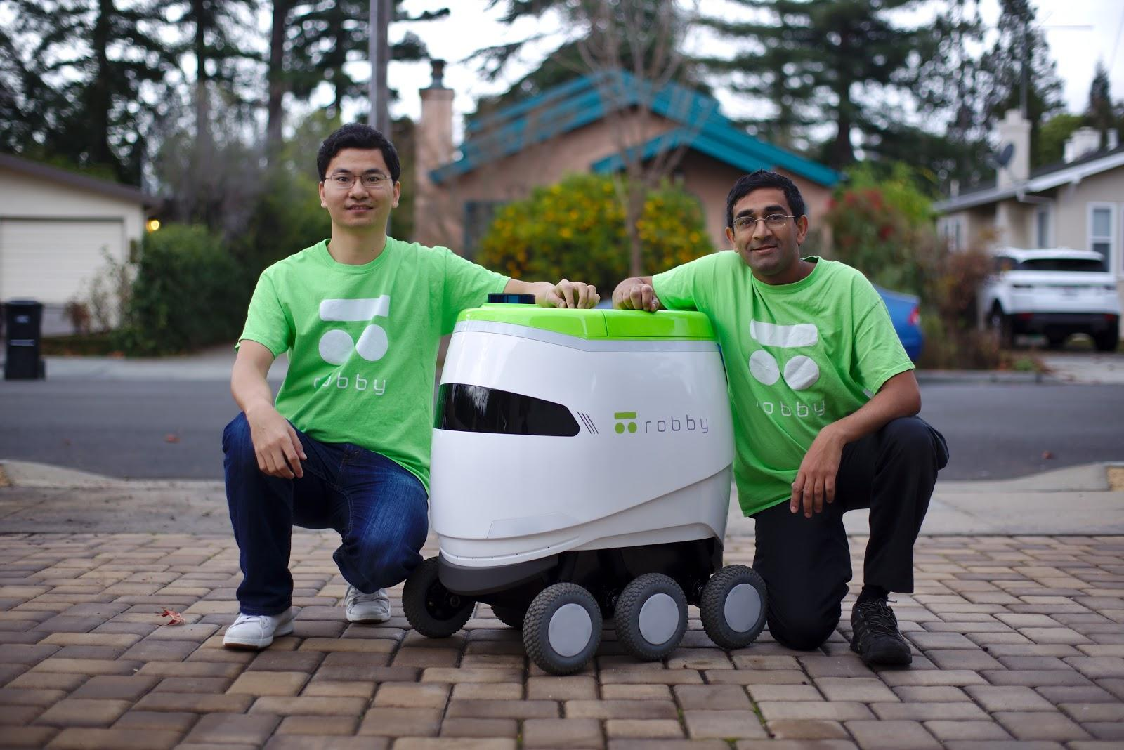 Robby the last-mile delivery robot gets an update | ZDNet