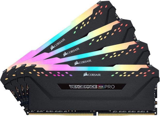 Corsair Vengeance RGB Pro 32GB (4 x 8GB) 288-Pin DDR4 RAM
