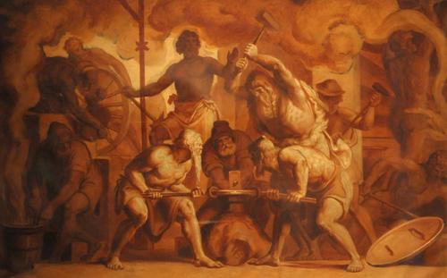 Hephaestus, patron god of mechanical engineers