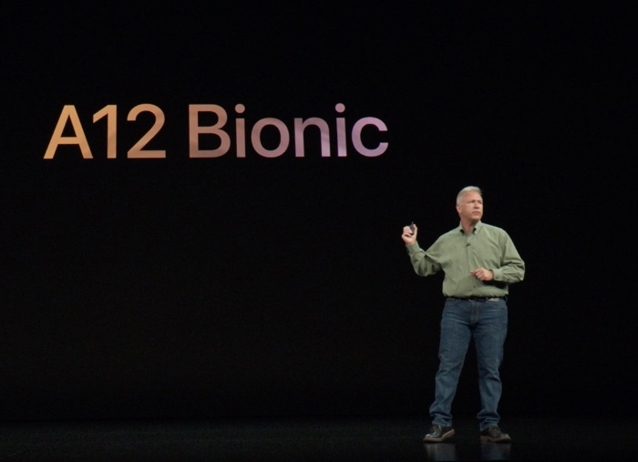 The new chip - A12 Bionic
