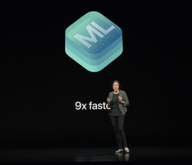 Machine Learning is 9 times faster...
