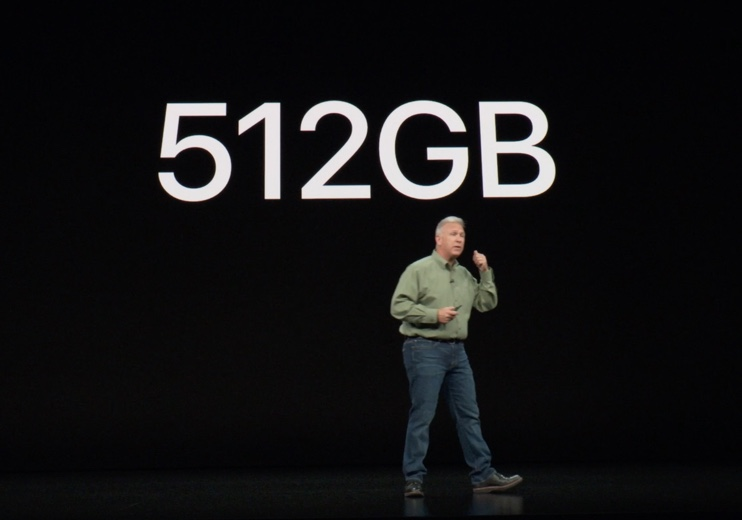 512GB - a first for the iPhone
