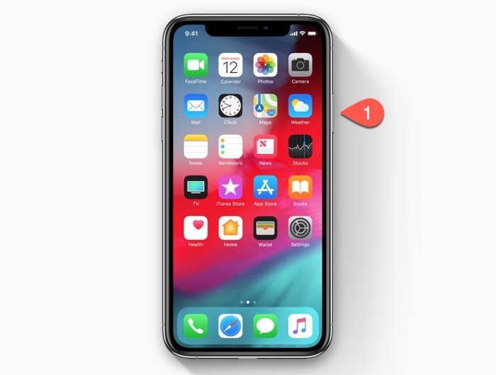 How to wake up the display on the iPhone XS/iPhone XR