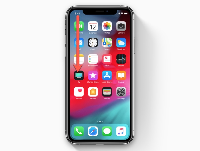 How to open notifications on the iPhone XS/iPhone XR