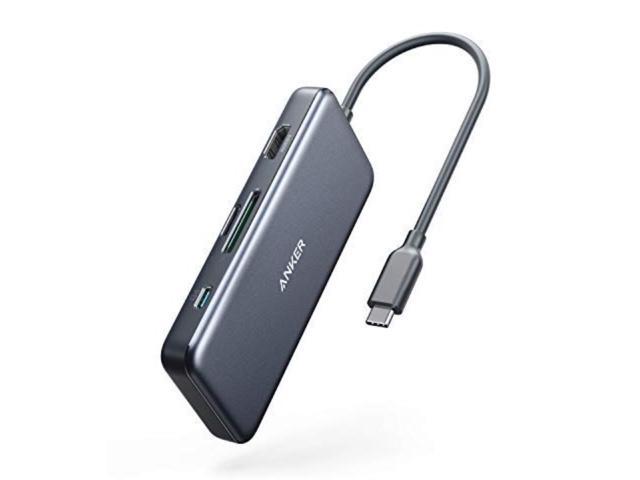 The Anker 7-in-1 USB-C hub