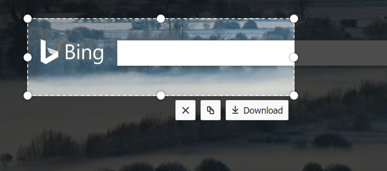 Firefox Screenshot tool with Download button