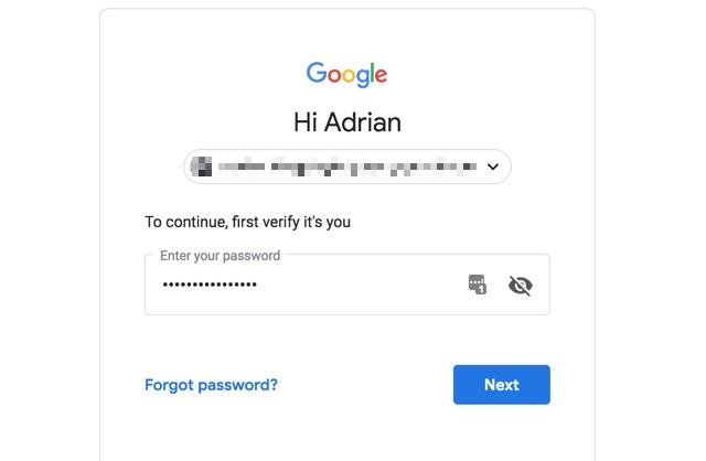 First, log in with your username and password