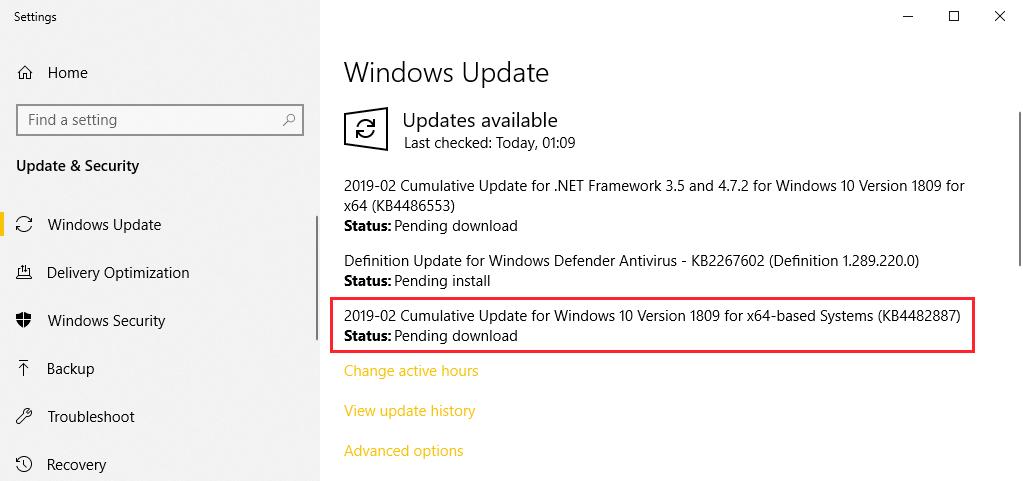 Windows Update Retpoline