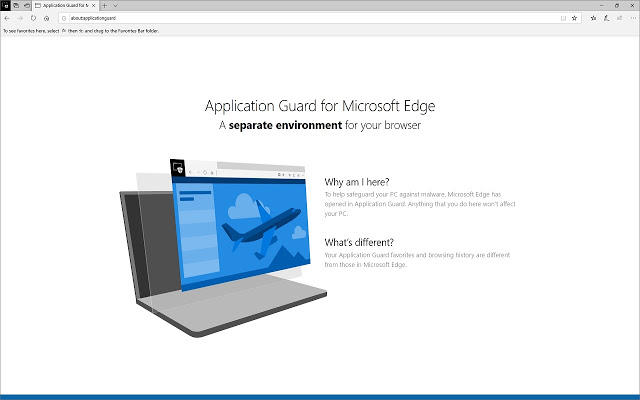 Application Guard extension on Chrome