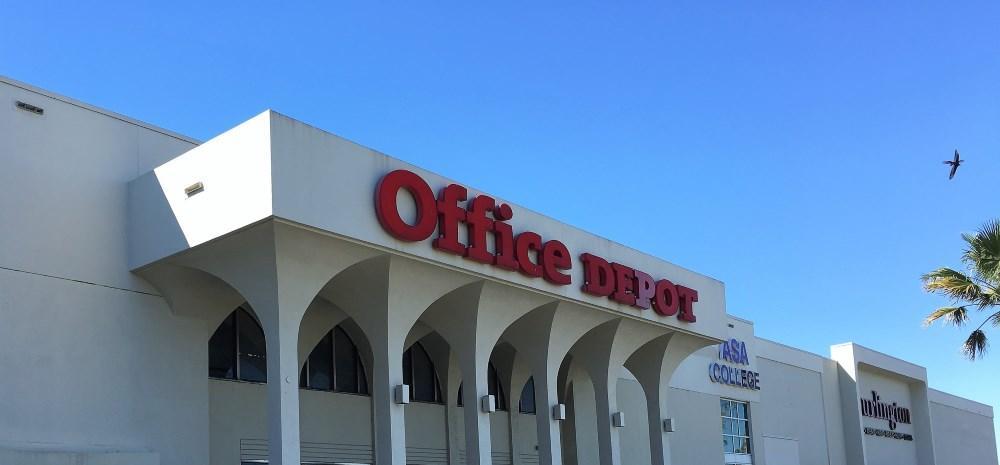 Office Depot signage