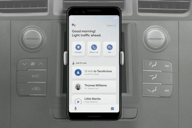 Google Assistant on the road