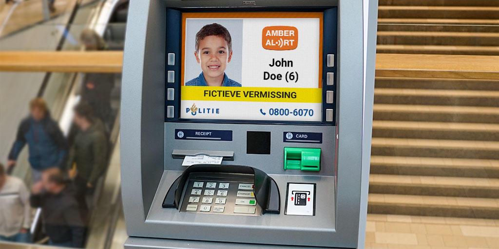 Amber Alert ATM
